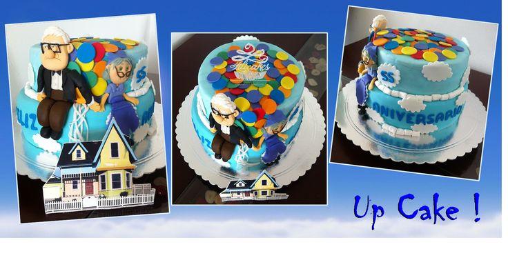 Up Cake Torta de Up Ponque de Up