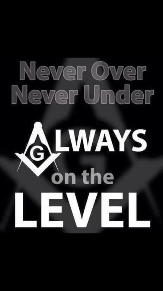 freemasonry always on the level