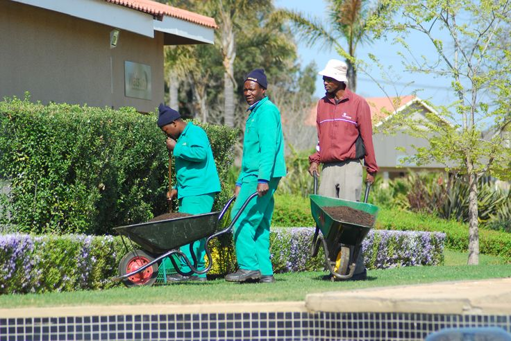 The men behind the beauty of Mogale Business Park