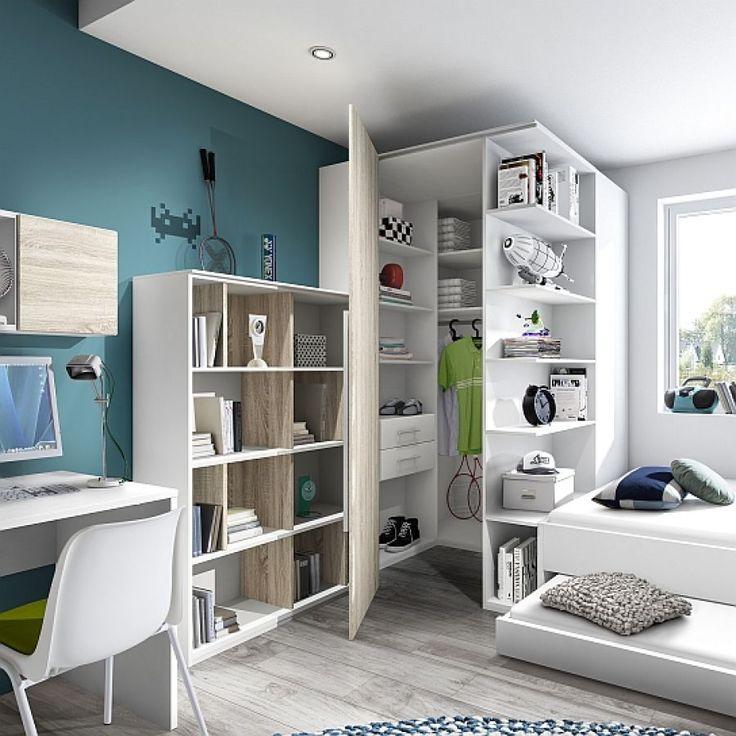 Die besten 25+ Eckkleiderschrank kinderzimmer Ideen auf Pinterest - schlafzimmer begehbarer kleiderschrank
