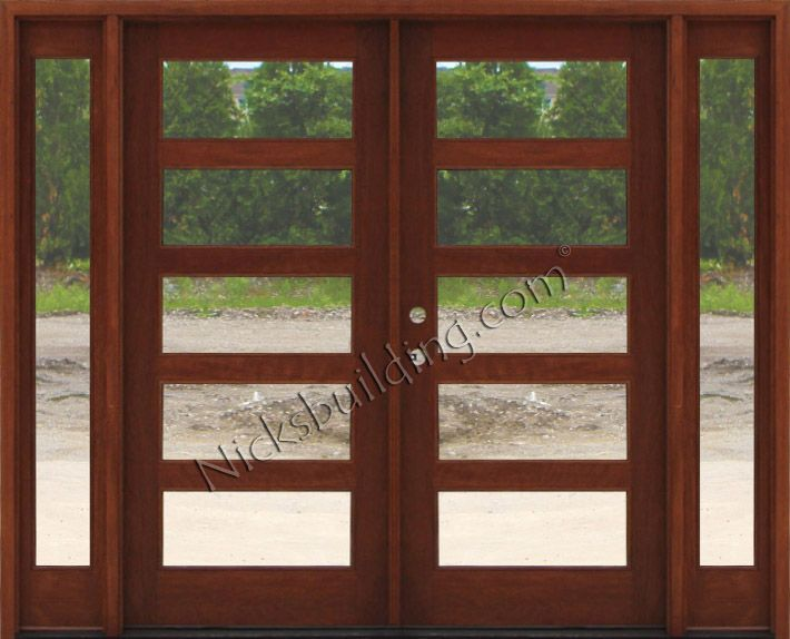 Delighful Modern Exterior Doors Affordable With Decorating