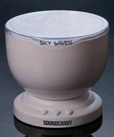 Another great find on #zulily! Sky Waves Audio Visual Lightshow Speaker #zulilyfinds