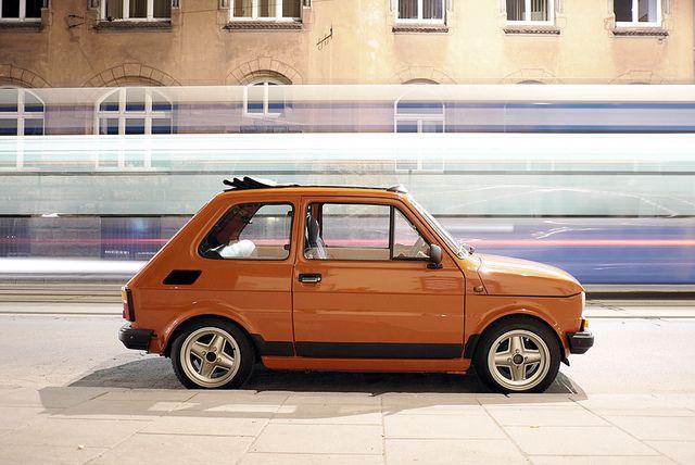 Polski Fiat 126p 650E
