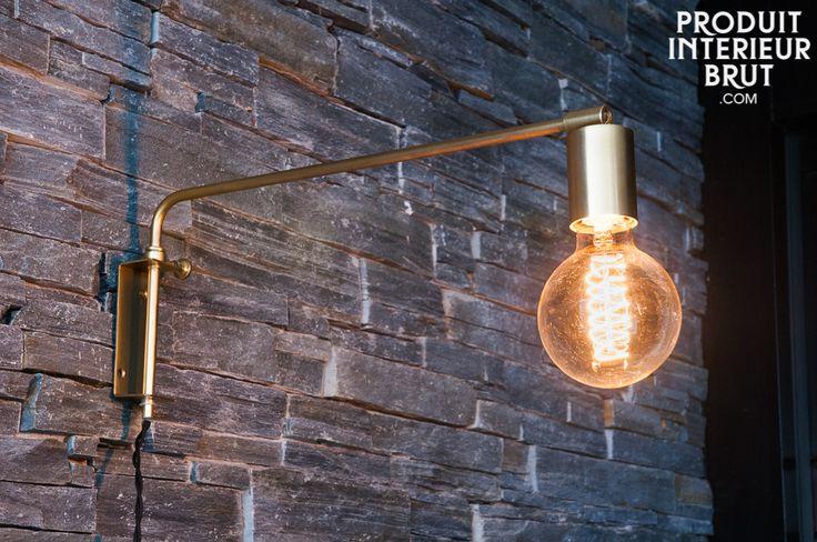 La lampe murale Janika est un accessoire typiquement de style scandinave des années 1960. Grâce à sa finition, elle donnera un esprit vintage nordique très tendance à votre intérieur.