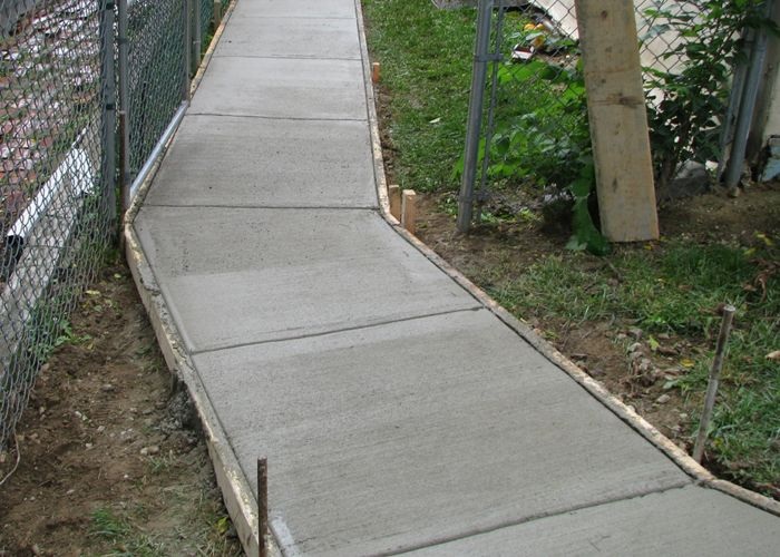 Excellent Concrete Sidewalk Work For All Types Of Construction