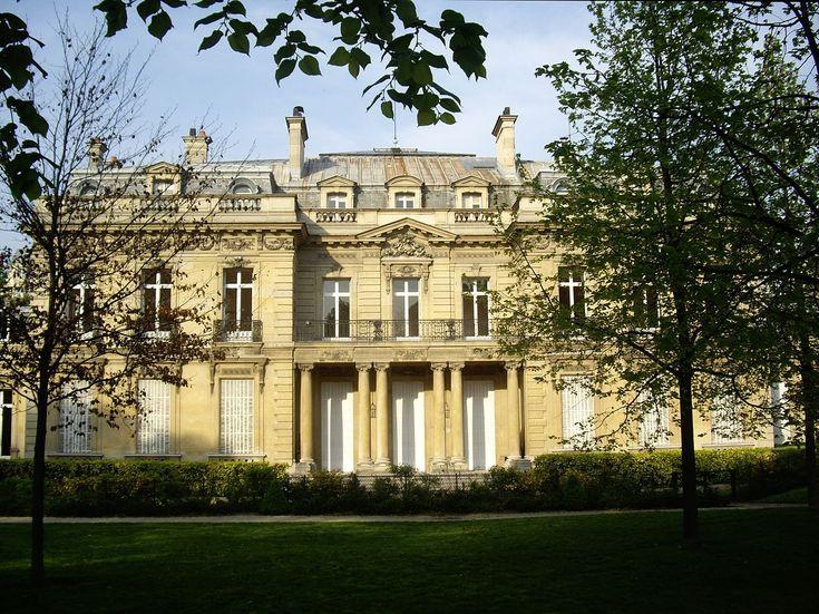 Hôtel Salomon de Rothschild, façade côté jardin - Rothschild family - Wikipedia, the free encyclopedia