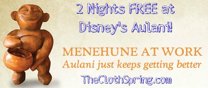 Aulani expansion means great savings for you - 2 nights free!Aulani Expansion