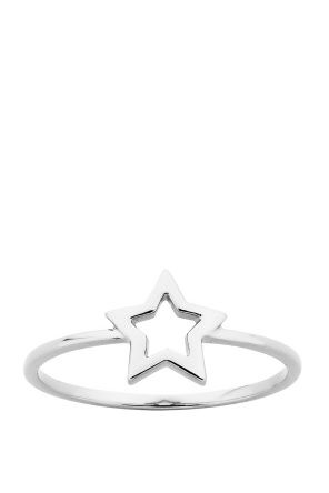 Shop for Jewellery at Incu \ Mini Star Ring in Silver by Karen Walker