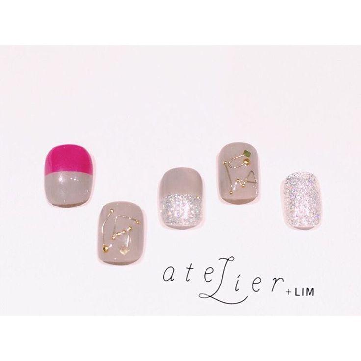design:峯園 @nana_minesono 《ワイヤーネイル》 #atelierlim #nail #eyelash #LIM #峯園 #アトリエ #アトリエリム #リム #ショートネイル #ネイル #ジェルネイル #biiq #osaka