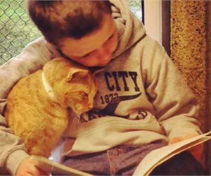 Kids Reading to Sheltered Cats Pulls at Your Heartstrings