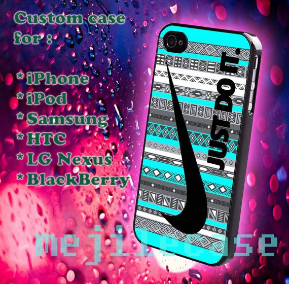 Just do it Aztec Tiffany iphone 4/4s iphone 5/5s/5c by mejile, $12.10