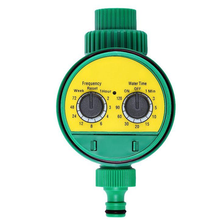 Electronic Water Timer Sprinkler Controller Garden Solenoid Valve Irrigation Timer For Electronic Sprinkler System High Quality