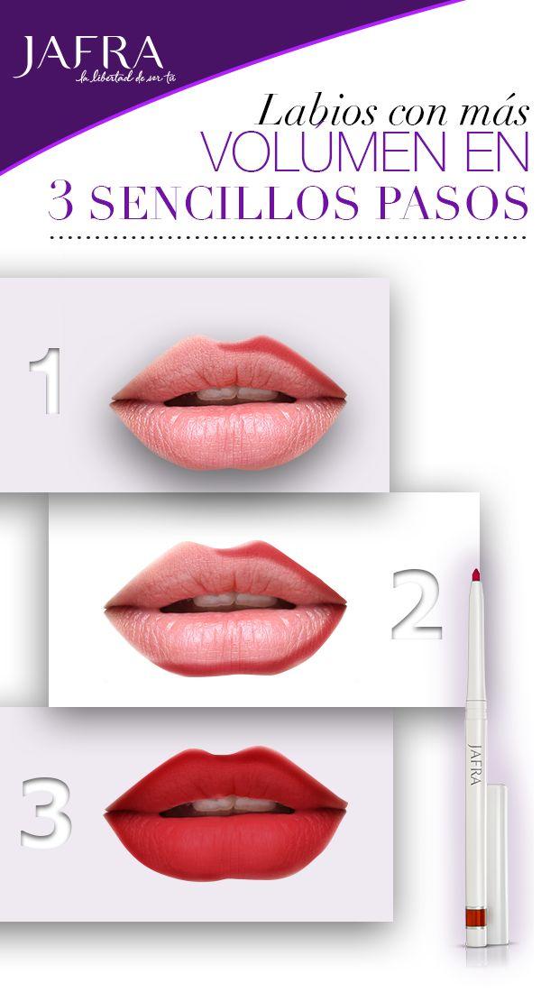 Delineado, labial, tendencia, JAFRA, tips de belleza.