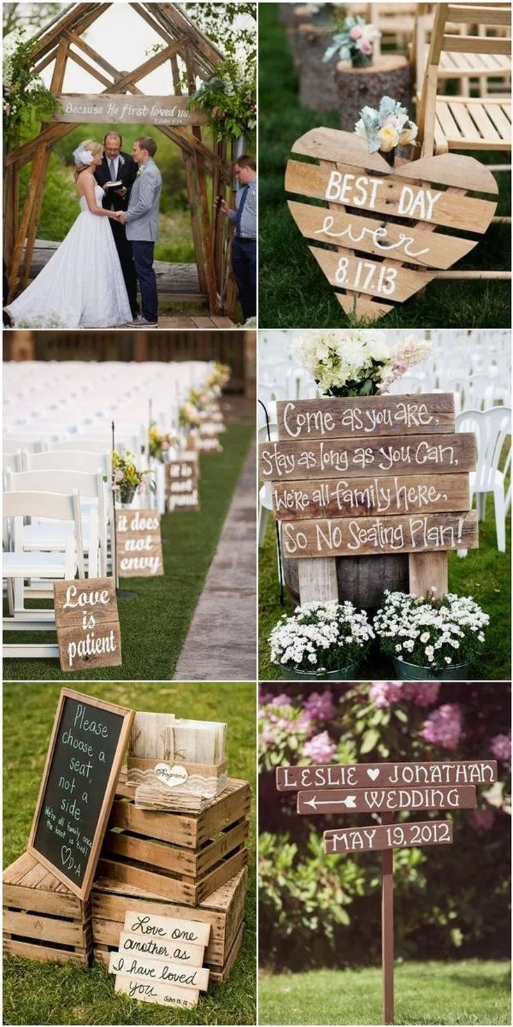 ✔72 country rustic wedding decoration ideas with tree stumps 35