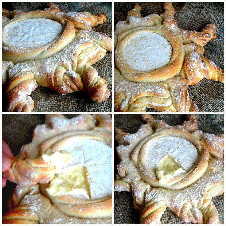 pão com camembert
