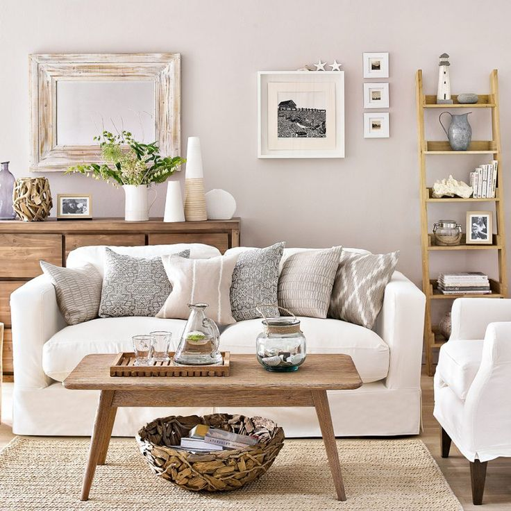 Coastal living room ideas featuring our Hill Billy coffee table!
