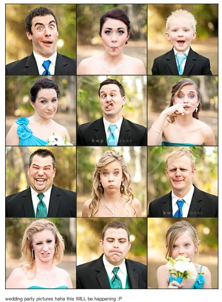 individual shot of each groomsdude and brideslady.