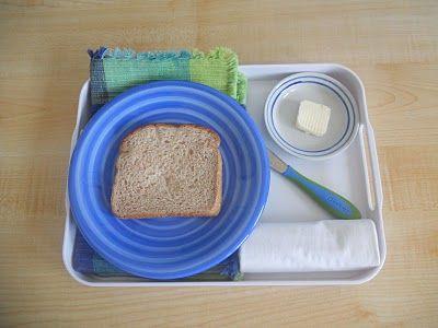 practical life food preparation -montessori.
