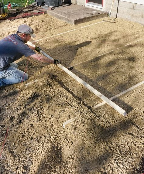 Doing It Right: How To Lay A Level Brick Paver Patio