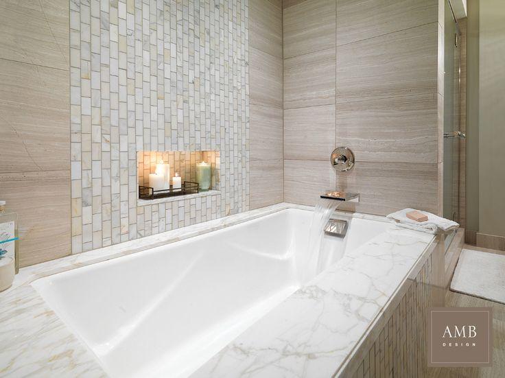 Organic Modern Bathroom Design By Anne Marie Barton Ambdesign Interiordesign Bathroom