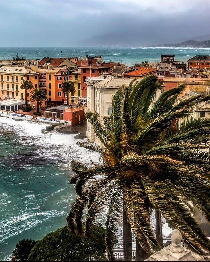 Wind and waves by Maranatha.it Photography (Sestri Levante, Ligurian sea, Italy)