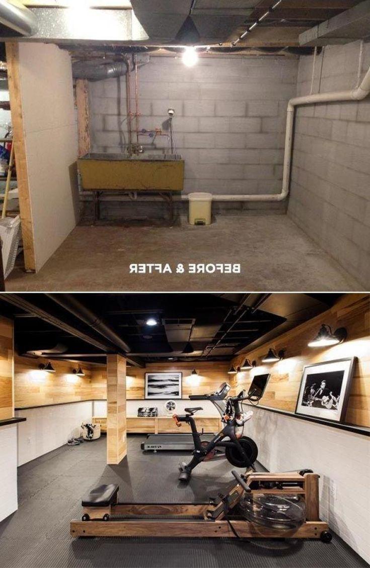 Inneneinrichtung Fitnessstudio: Blick