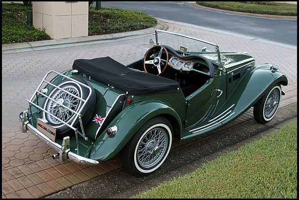 1955 MG TF.  One of my dream cars for when I win the lottery. http://www.windblox.com/styles/mgb_windblocker.htm