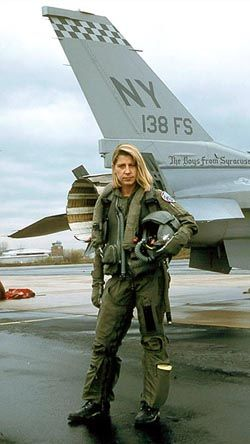 Jacquelyn Parker was one of the first female fighter pilots assigned to an F-16 Viper squadron. She was also the first female U.S. Air Force...
