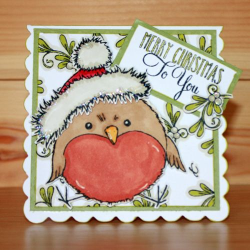 Introducing the very popular 'Round Robins' designed by the very talented Sharon Bennett. Card by Heidi Green