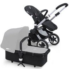 Limobebe - for modern babies :: cochecitos de bebé :: bugaboo buffalo :: chasis bugaboo buffalo negro sin capota ni cubrepiés