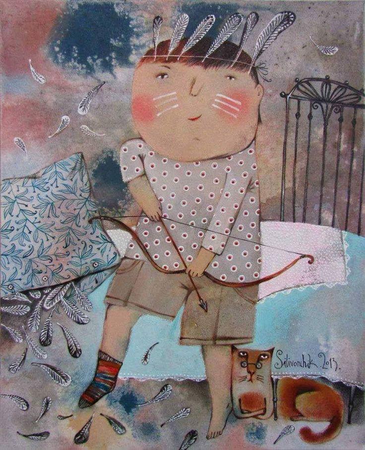 Dipinto di Anna Silivonchik