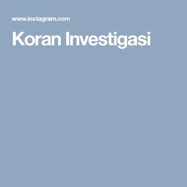 Koran Investigasi