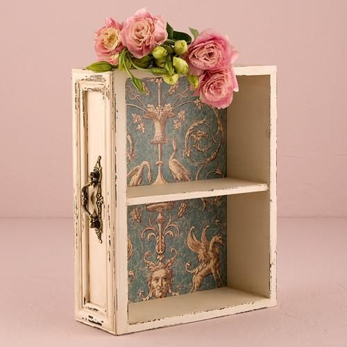 Vintage Inspired Display Drawer or Case with Shelf