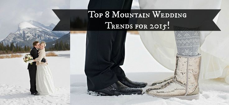We love new wedding trends! So here are our Top 8 Mountain Wedding Trends for 2015 - all perfect for our home turf, the Canadian Rockies. http://postcardweddings.com/top-mountain-wedding-trends-2015 Thanks to www.orangegirl.com for these shots.