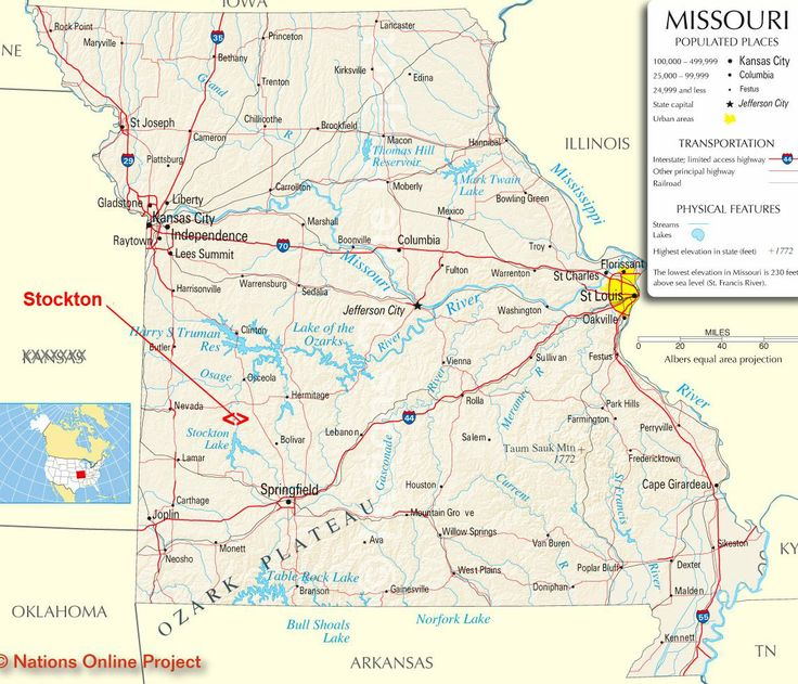 Best Trip Bucket MO Stockton Lake Images On Pinterest - Map of missouri state
