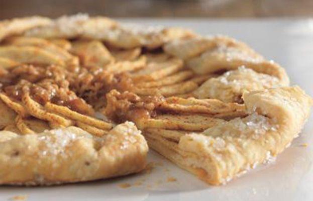 Recette de Tarte aux pommes et au caramel