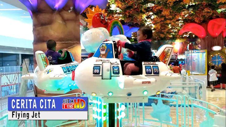 odong odong pesawat ❤ mainan anak anak