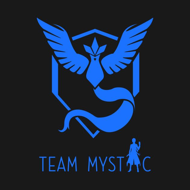 Check out this awesome 'Team+Mystic+PokemonGo' design on @TeePublic!