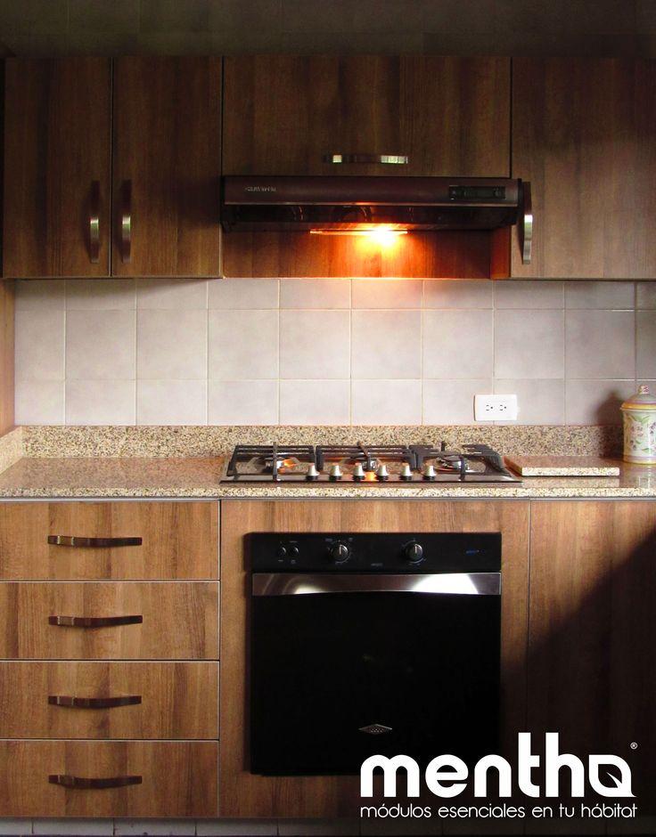 Espacios funcionales, cálidos y organizados. Así son las cocinas Mentha.
