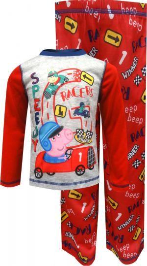 WebUndies.com Nickelodeon Peppa Pig George Speedy Racers Toddler Pajamas