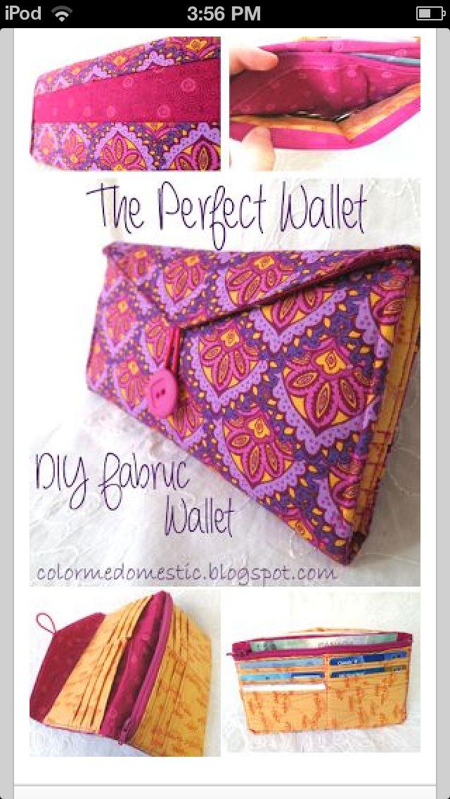 Homemade wallet
