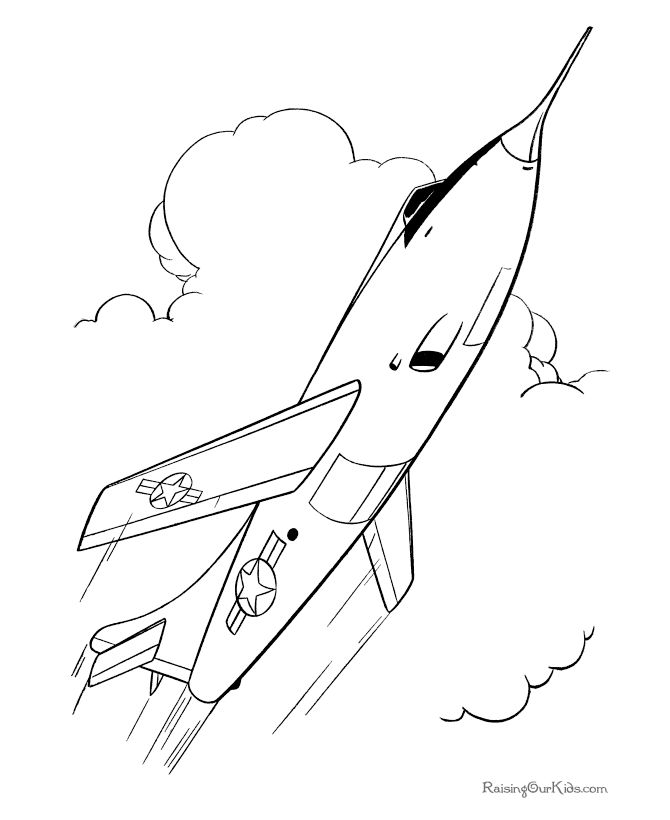 air force coloring pages - Air Force Coloring Pages Printable