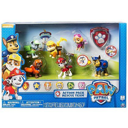 Paw Patrol Action Pack Rescue Team | Kids | George at ASDA