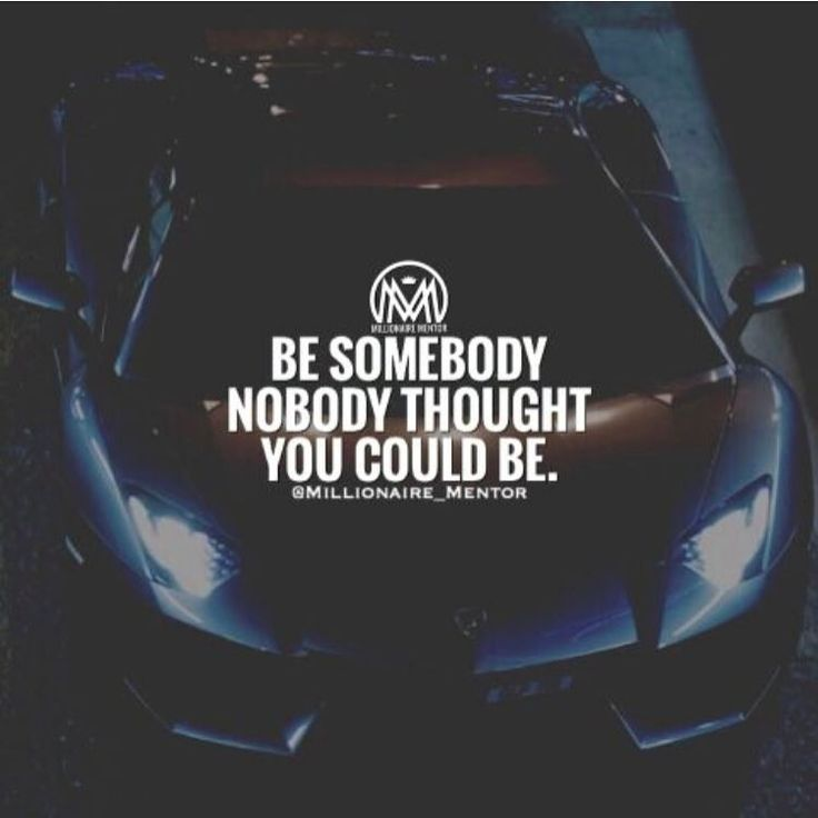 Don't chase love, fame or success. Become that person nobody thought you could be, the best version of yourself and those things will chase YOU. ✔️ #millionairementor