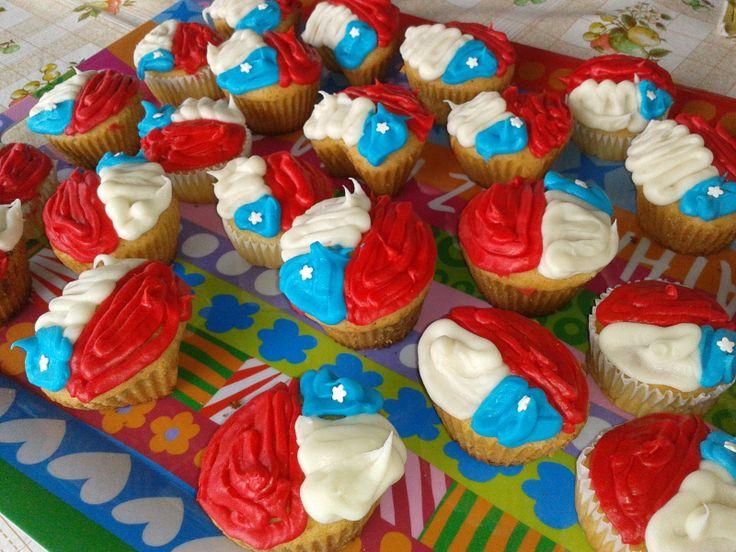 Cupcakes 18 de septiembre - bandera de Chile!