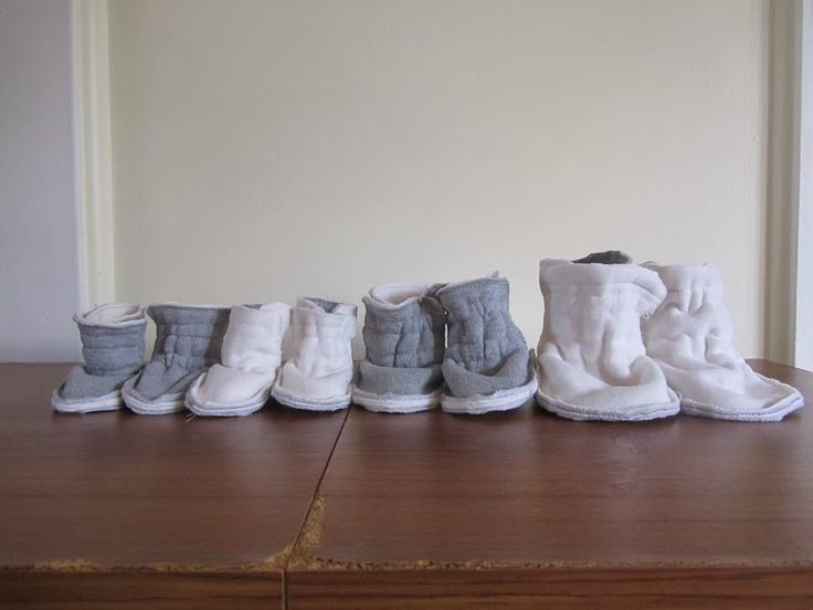 Making it up as I go: Baby Shoes