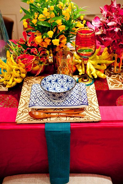 Tablescape ~ Moroccan Global Table Setting by Patrice Cowan Bevans! & 7 best Tablescapes images on Pinterest | Dinner table decorations ...