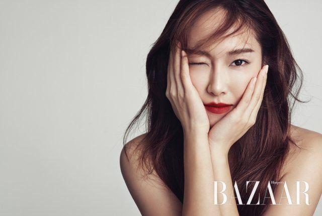 Jessica Jung Poses for Harper's Bazaar | Koogle TV