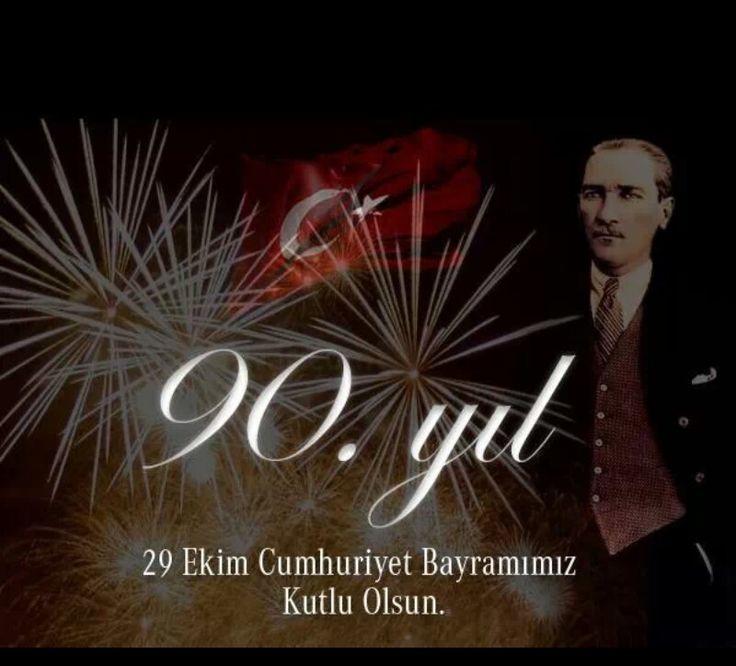 #29Ekim #Cumhuriyet #90yaşında