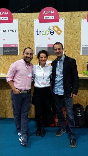 #tradeNOW team at #WebSummit,  #day1